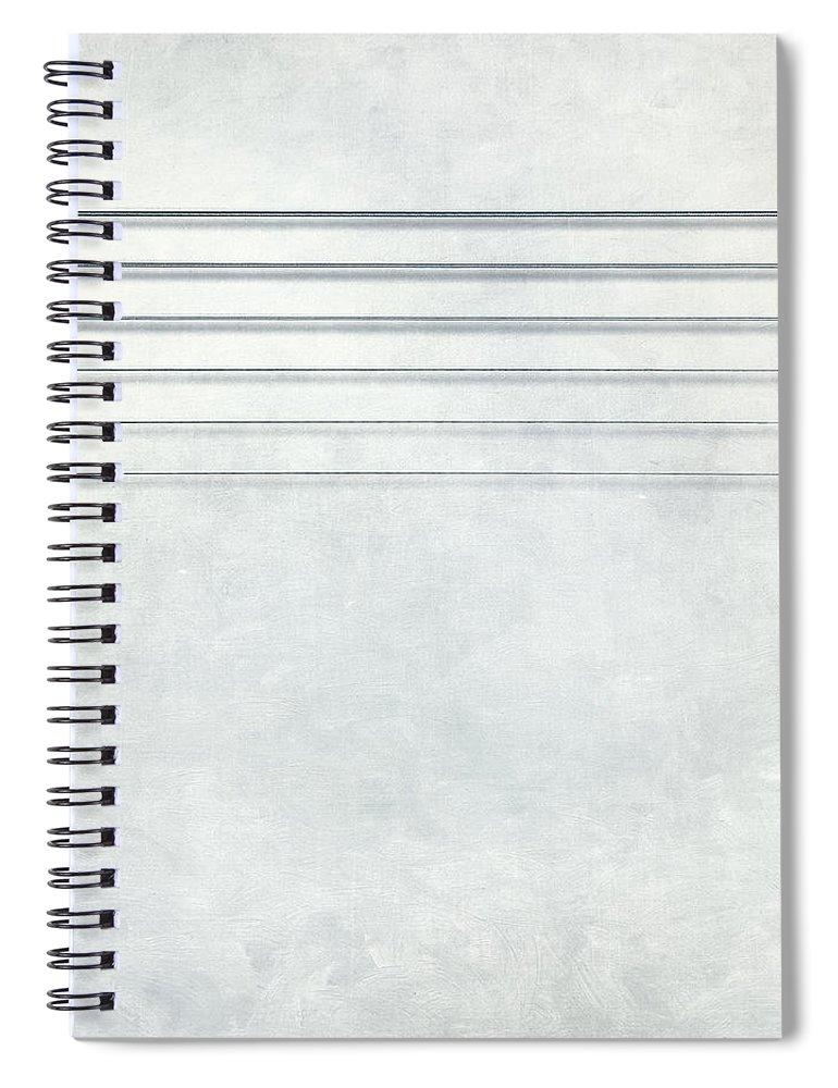 Scott Norris Photography Spiral Notebook featuring the photograph Six Strings by Scott Norris