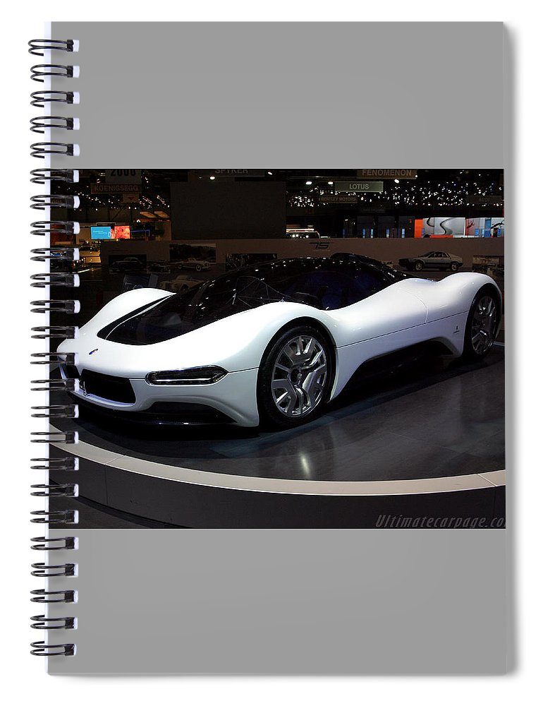 Sports Car Spiral Notebook featuring the photograph Sports Car by Jackie Russo