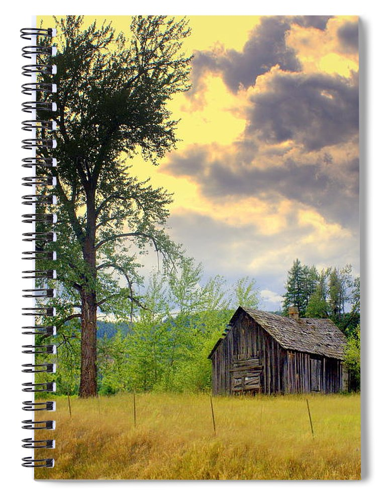 Washington Spiral Notebook featuring the photograph Washington Homestead by Marty Koch