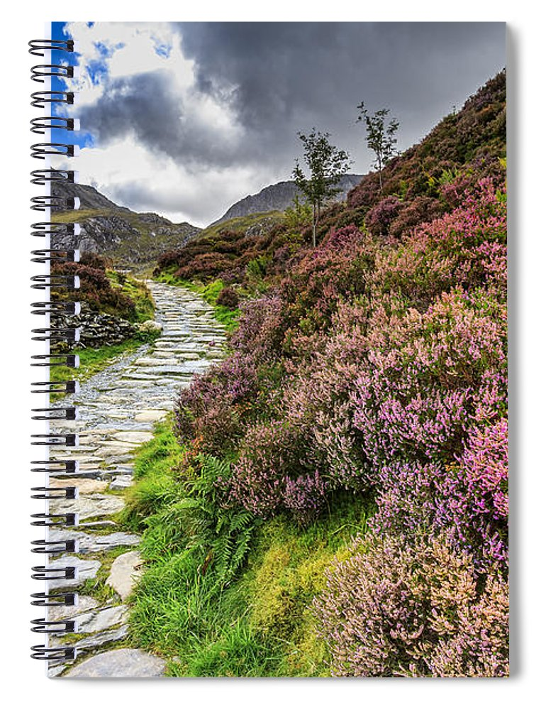 Snowdonia Spiral Notebook featuring the photograph Snowdonia National Park - by Chris Smith