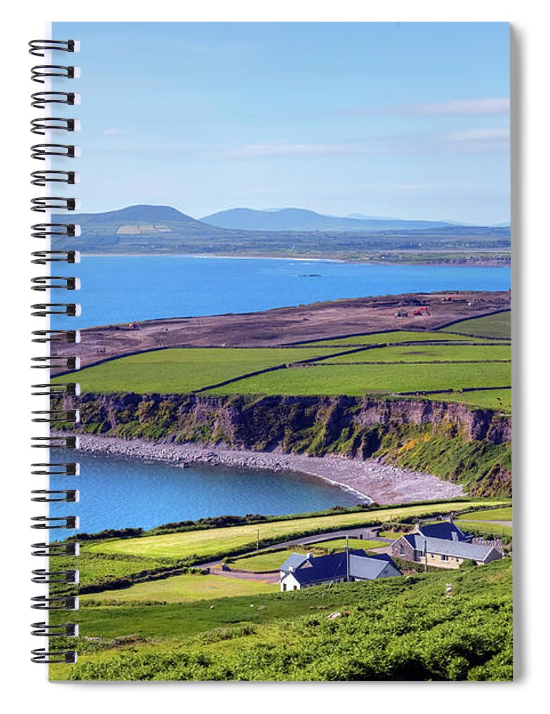 Ballingskelligs Bay Spiral Notebook featuring the photograph Ring Of Kerry - Ireland by Joana Kruse