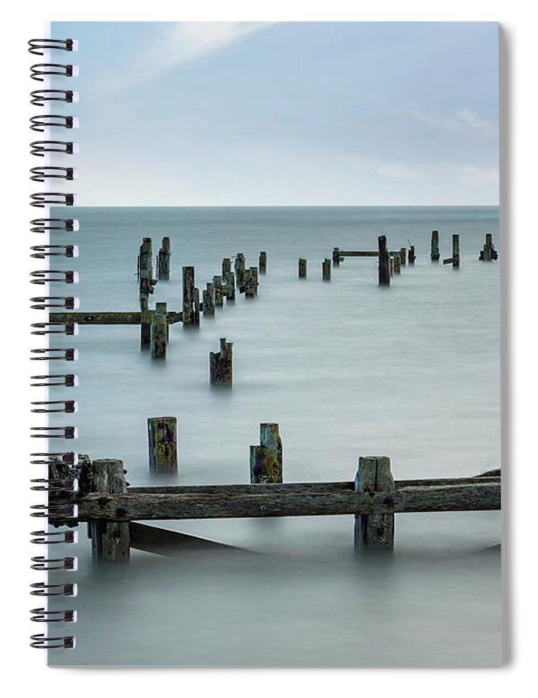 Swanage Spiral Notebook featuring the photograph Swanage - England by Joana Kruse