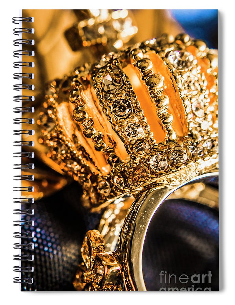 Crown Spiral Notebook featuring the photograph A Royal Engagement by Jorgo Photography - Wall Art Gallery