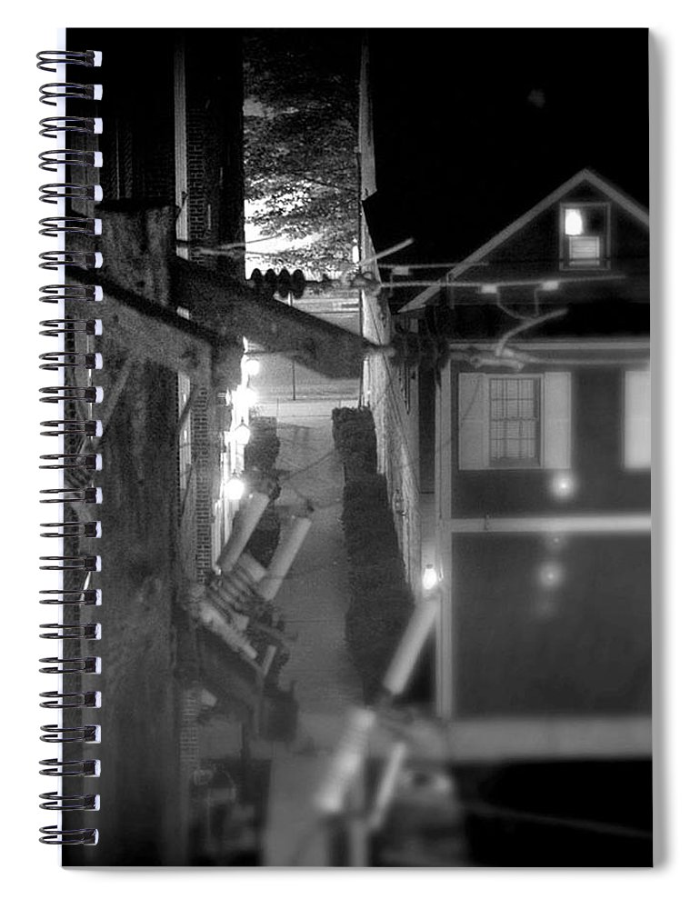 Alley Spiral Notebook featuring the photograph Alley to High by Jean Macaluso