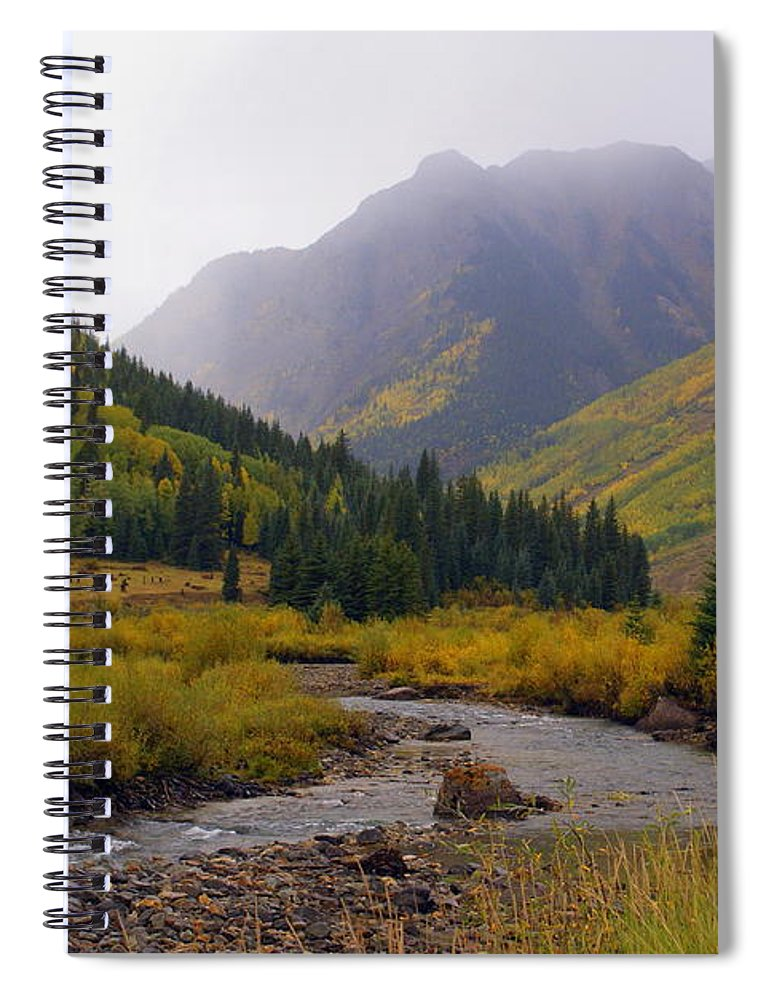Colorado Spiral Notebook featuring the photograph Alpine Loop Road by Marty Koch