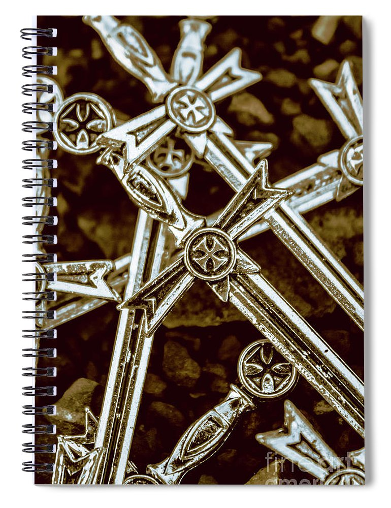 Battle Spiral Notebook featuring the photograph An Honourable Reign by Jorgo Photography - Wall Art Gallery