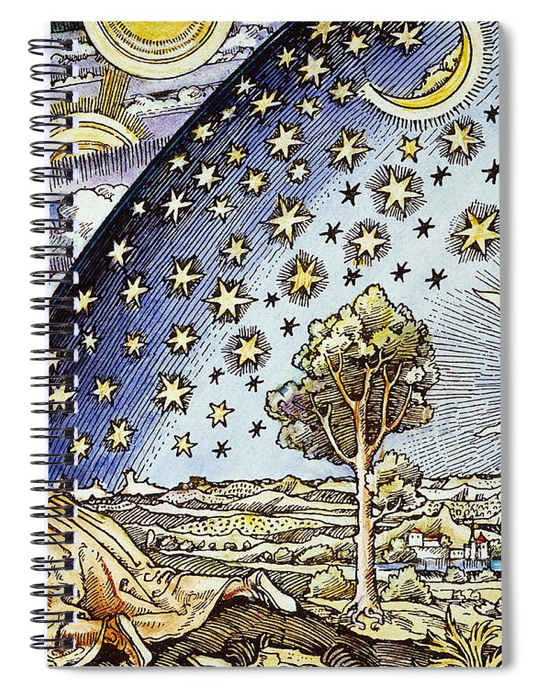 16th Century Spiral Notebook featuring the photograph Astrology, 16th Century by Granger