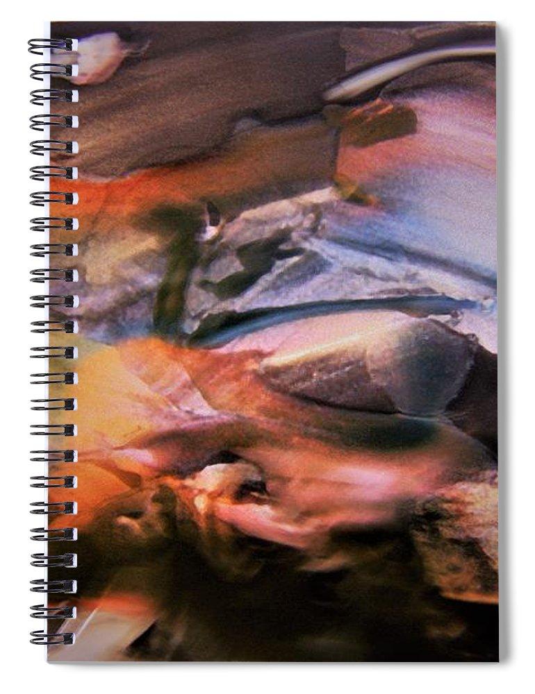 Autumn Spiral Notebook featuring the photograph Autumn Fades by Nordan Nielsen