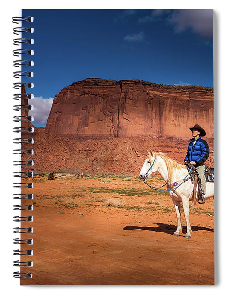 America Spiral Notebook featuring the photograph Awaiting The Challenge by William Freebilly photography