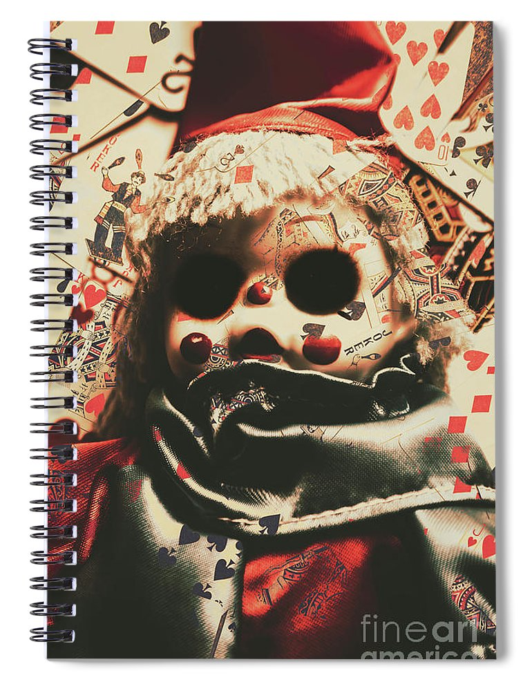 Bad Spiral Notebook featuring the photograph Bad Magic by Jorgo Photography - Wall Art Gallery