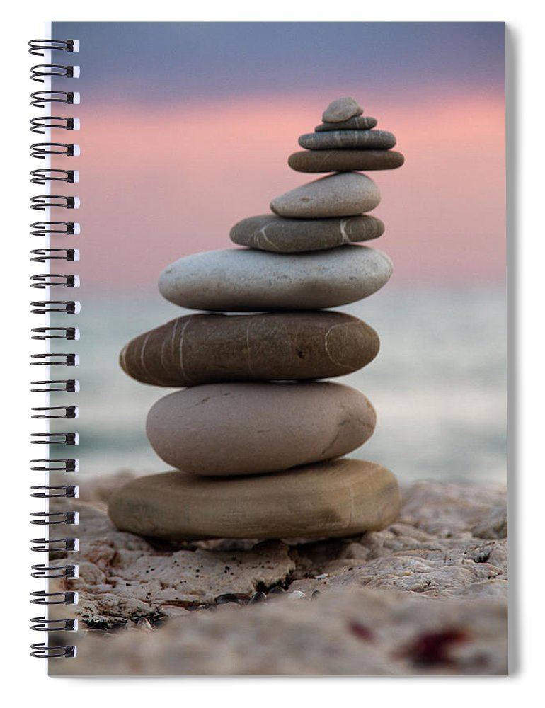 Arrangement Spiral Notebook featuring the photograph Balance by Stelios Kleanthous