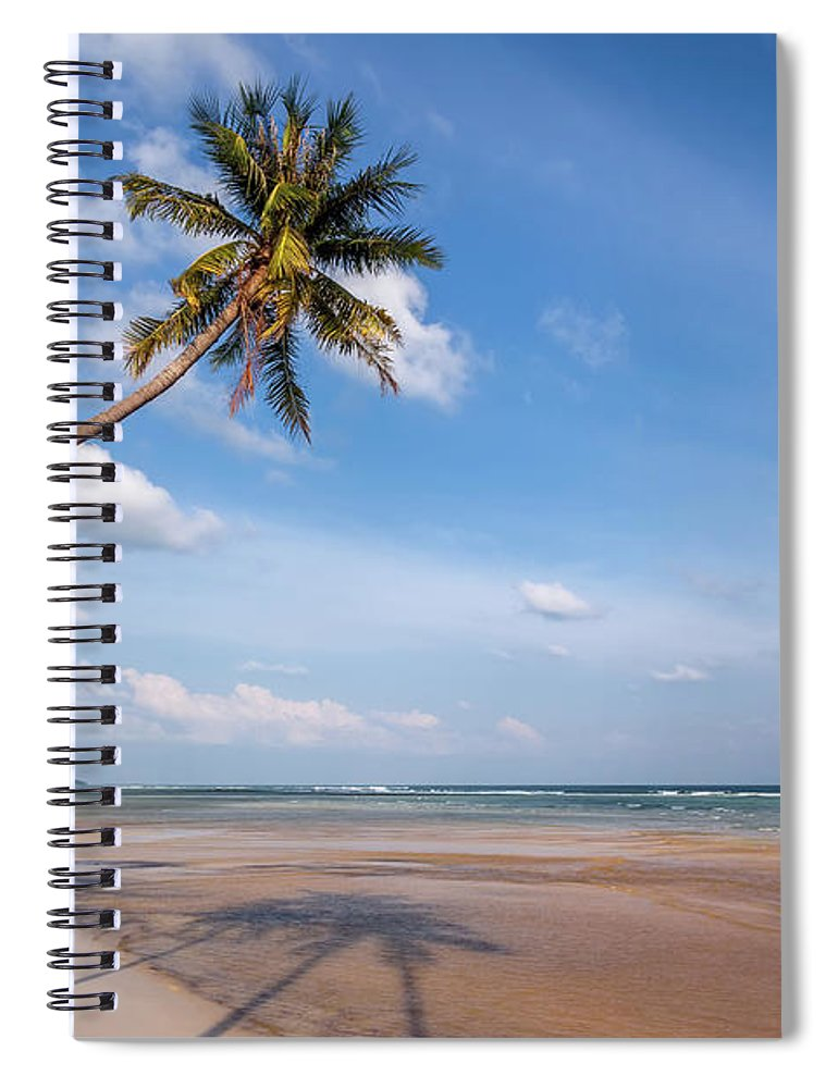Thailand Spiral Notebook featuring the photograph Ban Harn Beach by Adrian Evans