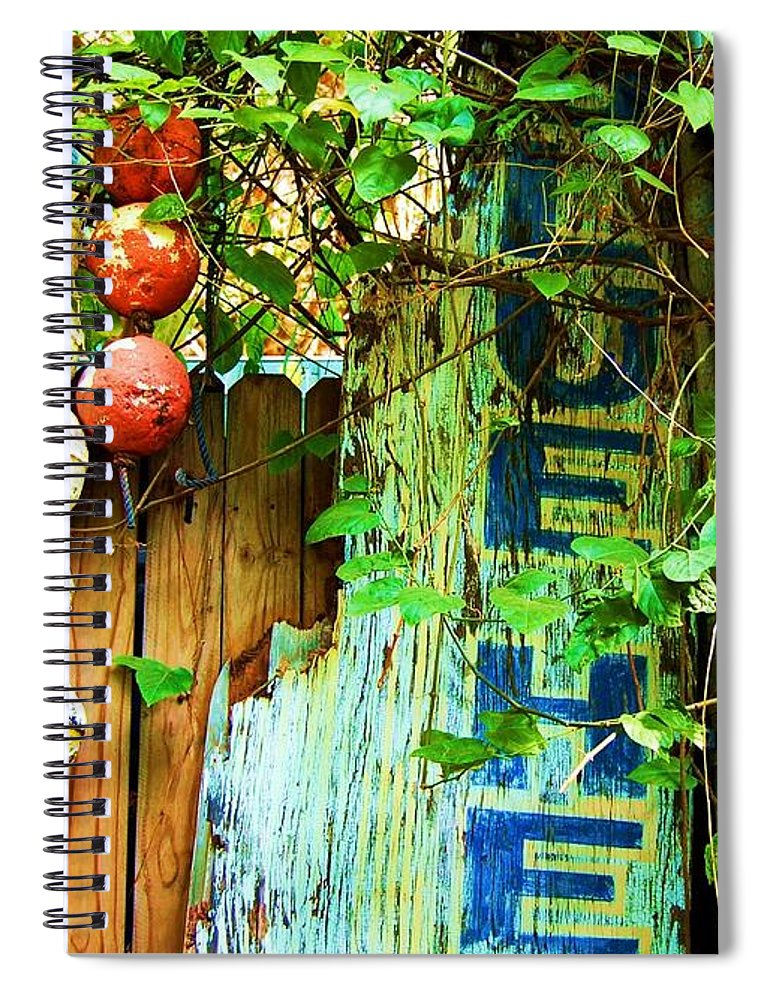 Blue Heaven Spiral Notebook featuring the photograph Blue Heaven by Debbi Granruth