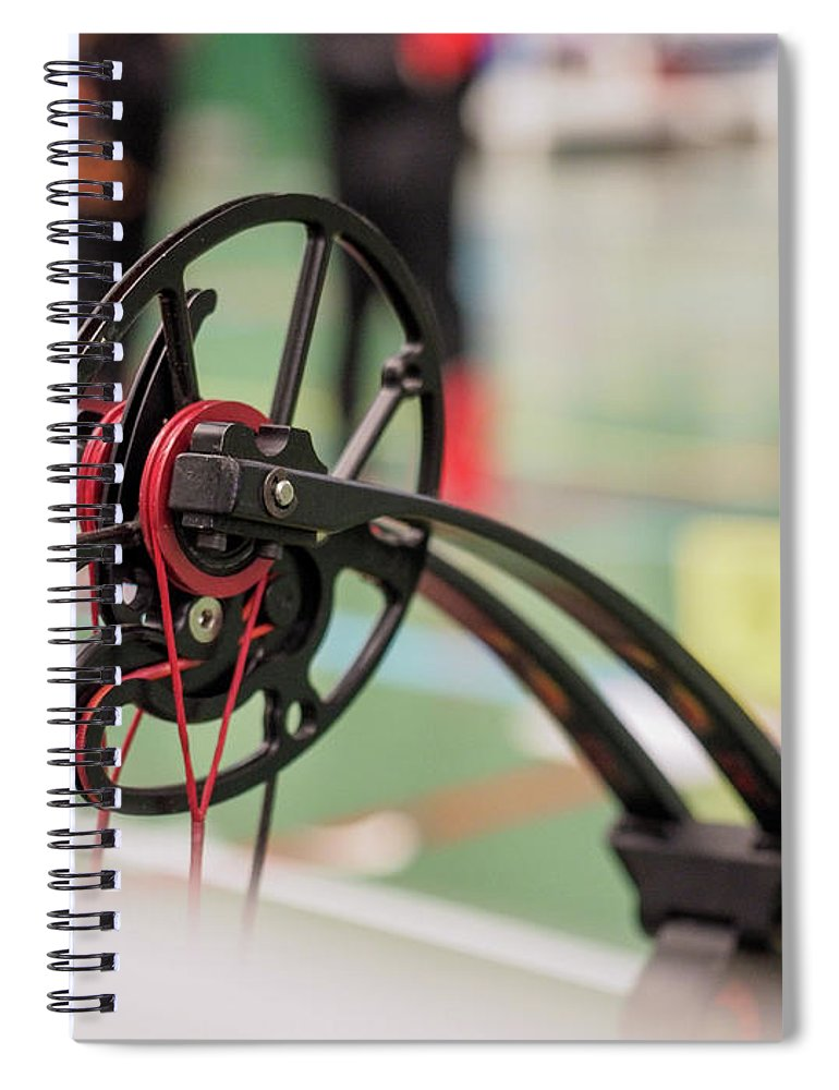 Bow Spiral Notebook featuring the photograph Bow by Hector Lacunza