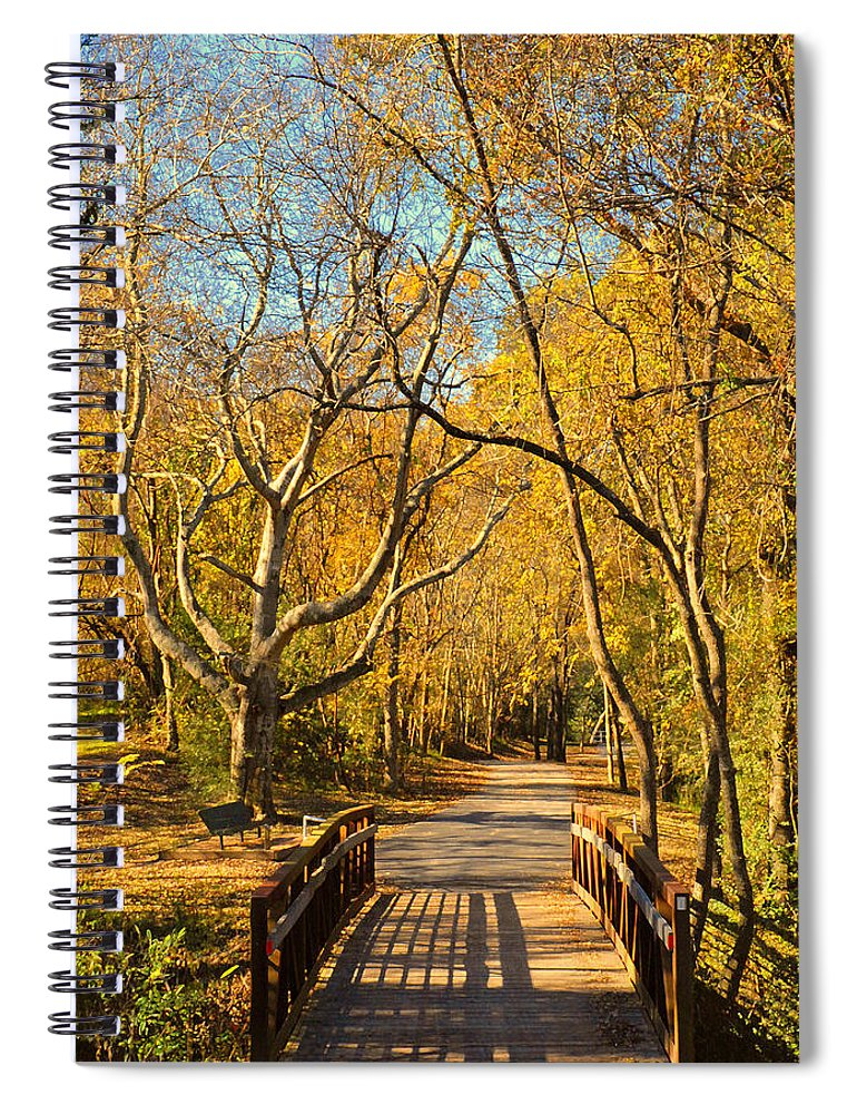 Trail Spiral Notebook featuring the photograph Bridge Of Sighs by Stephen Anderson