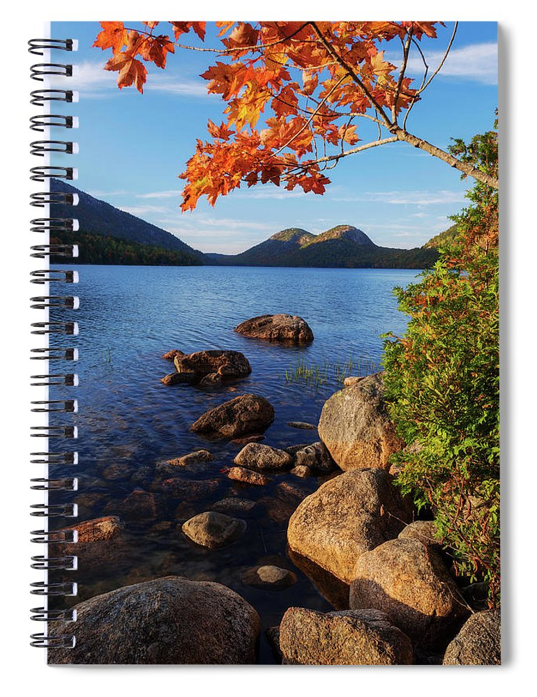 Calm Spiral Notebook featuring the photograph Calm Before The Storm by Chad Dutson