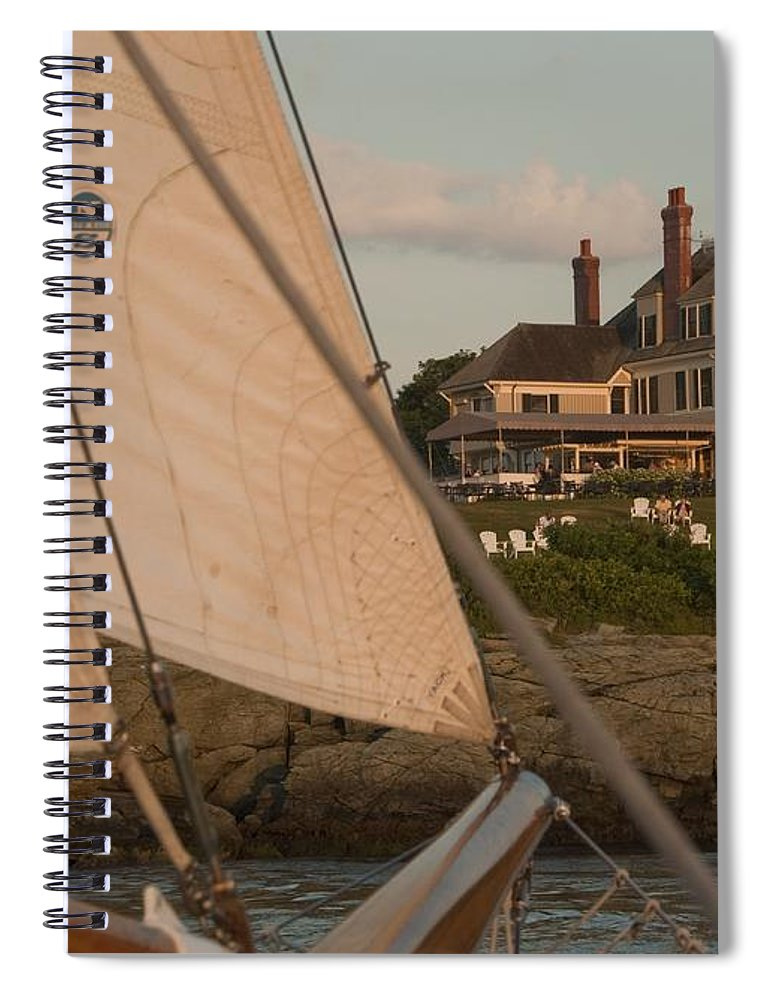 Castle Hill Spiral Notebook featuring the photograph Castle Hill by Steven Natanson