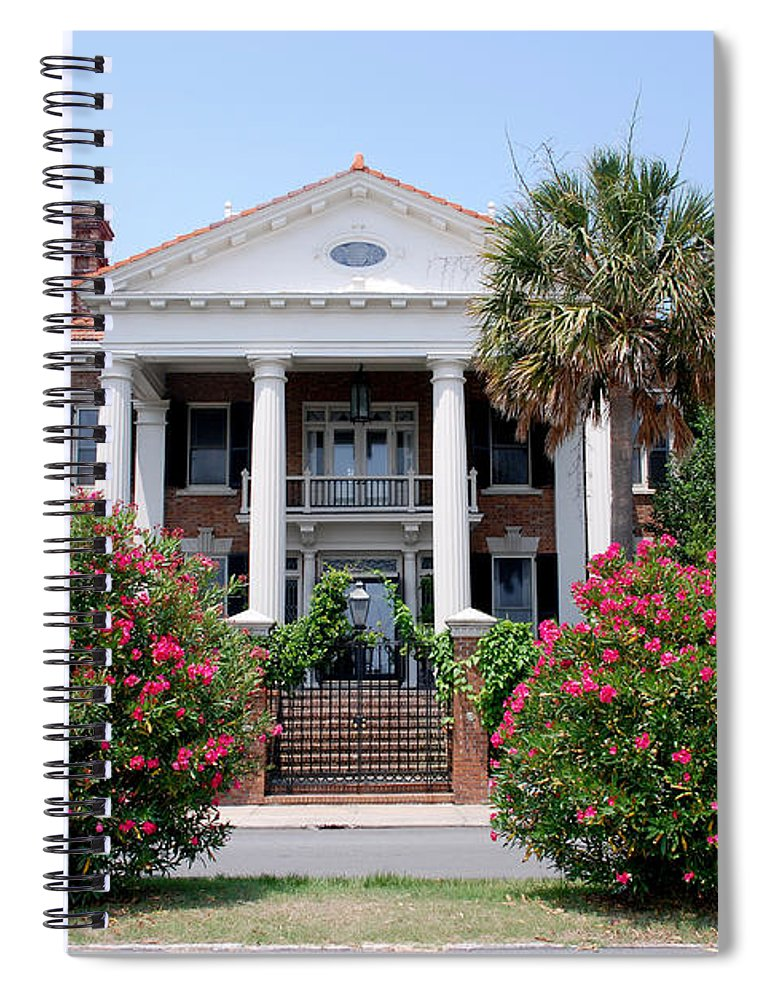 Photography Spiral Notebook featuring the photograph Charleston At His Best by Susanne Van Hulst