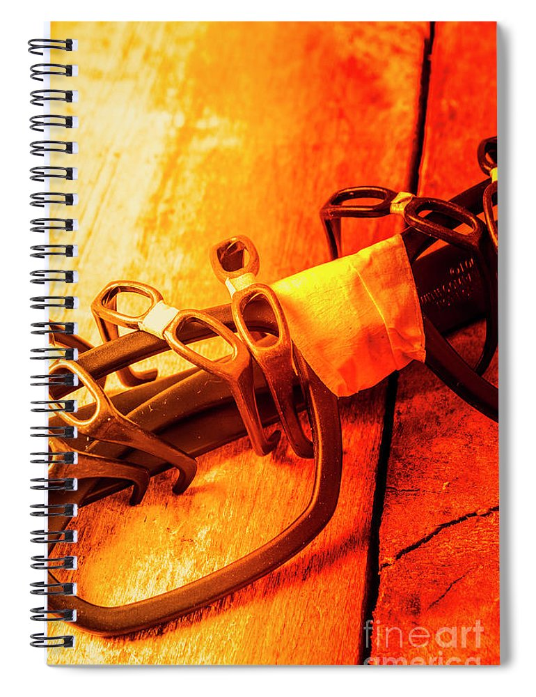 Dork Spiral Notebook featuring the photograph Code Red Nerd Alert by Jorgo Photography - Wall Art Gallery
