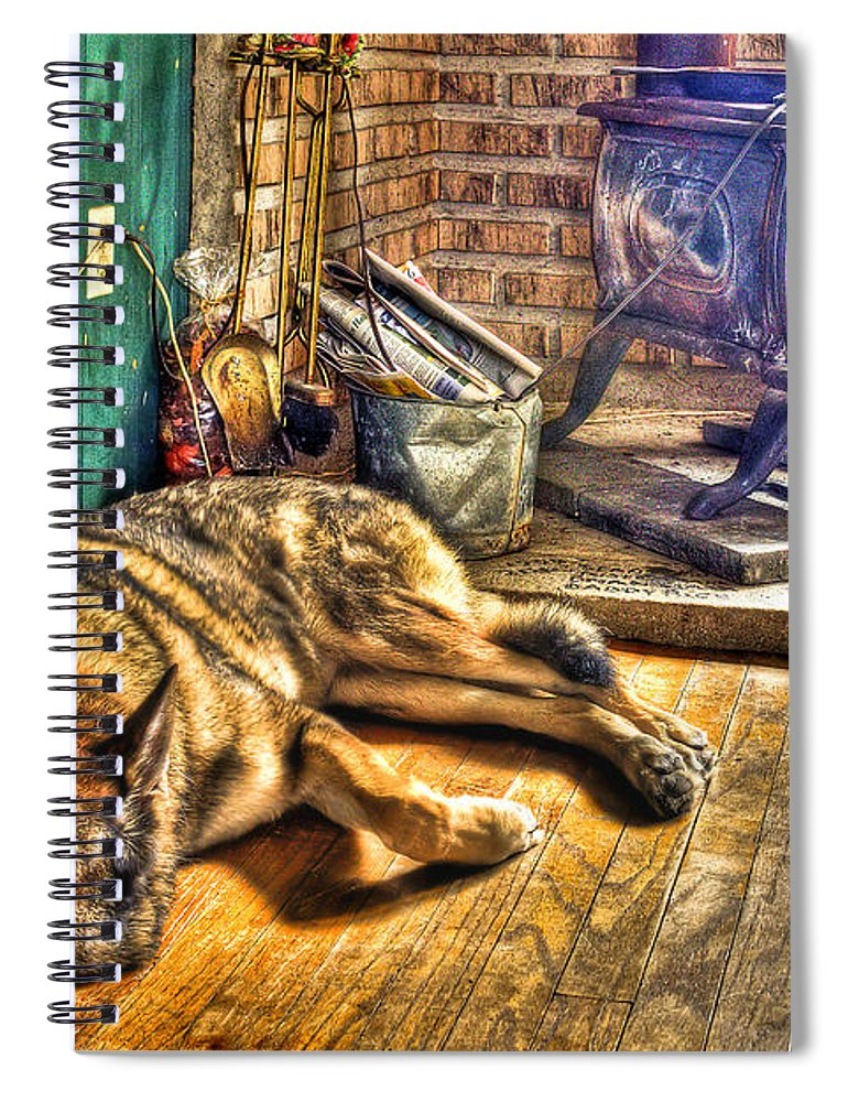 Country Spiral Notebook featuring the photograph Country Living by Evelina Kremsdorf