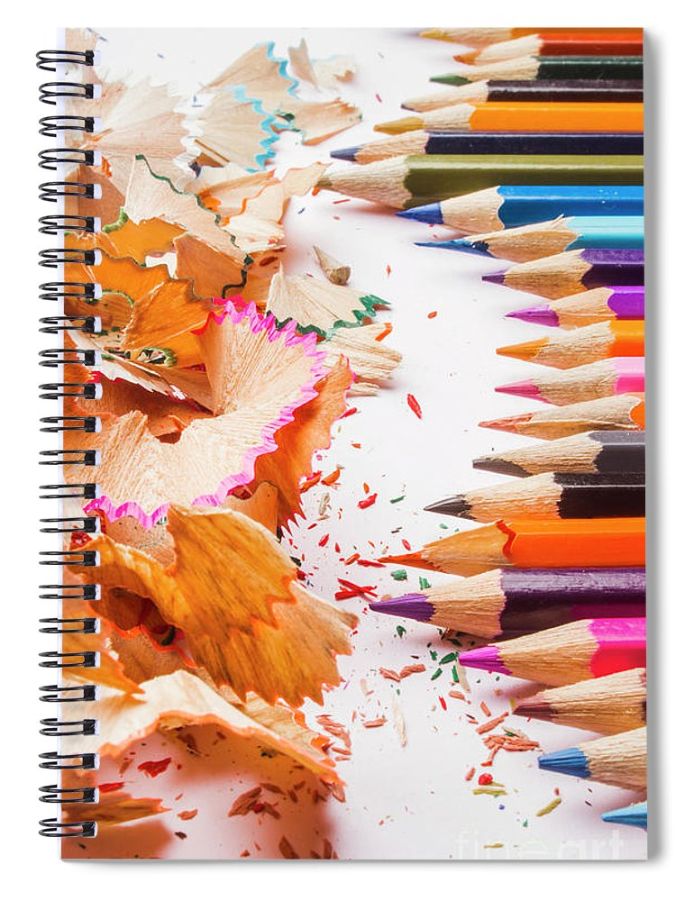 Creativity Spiral Notebook featuring the photograph Craft In Sharpening by Jorgo Photography - Wall Art Gallery