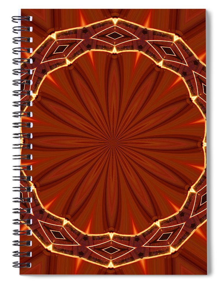 Crown Of Thorns Spiral Notebook featuring the photograph Crown Of Thorns by Kristin Elmquist