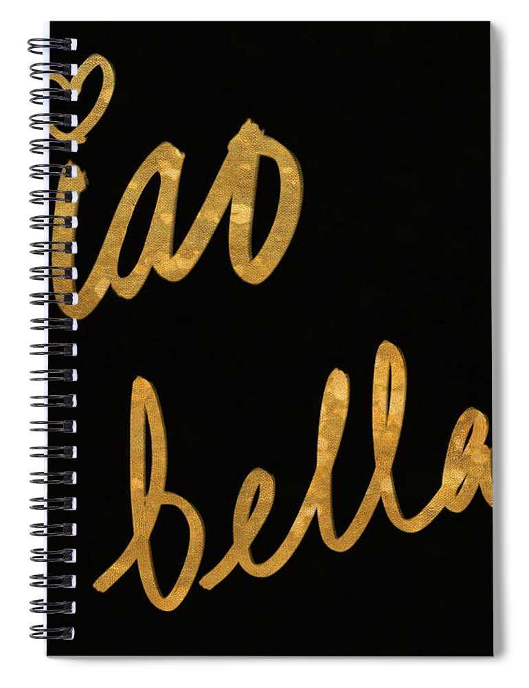 Darling Spiral Notebook featuring the painting Darling Bella II by South Social Studio