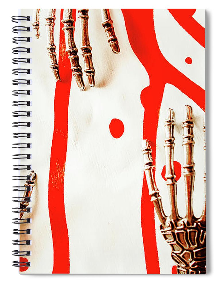 Robot Spiral Notebook featuring the photograph Deadly Design by Jorgo Photography - Wall Art Gallery