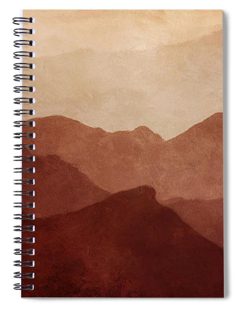Death Valley National Park Spiral Notebook featuring the photograph Death Valley by Scott Norris