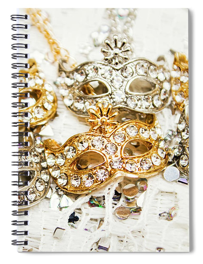 Luxury Spiral Notebook featuring the photograph Diamond Party by Jorgo Photography - Wall Art Gallery