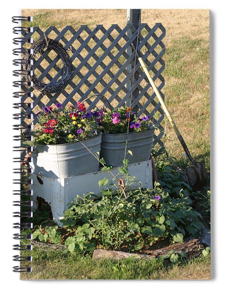 Summer Spiral Notebook featuring the photograph Early Summer by Bjorn Sjogren