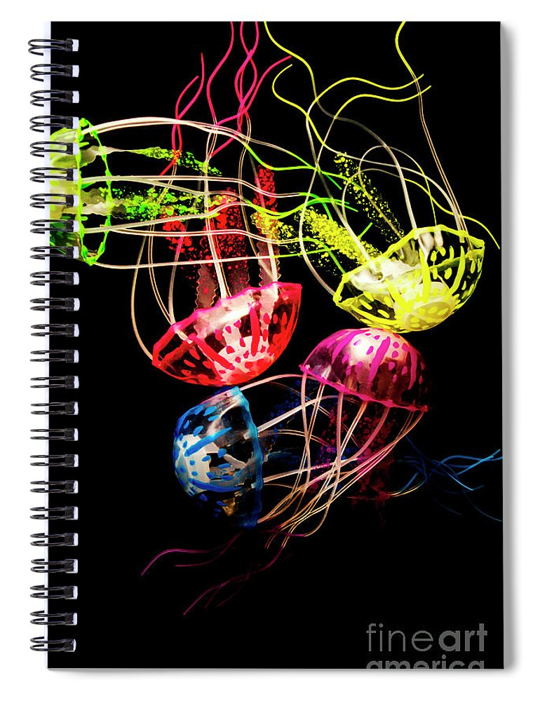 Ocean Spiral Notebook featuring the photograph Entwined In Interconnectivity by Jorgo Photography - Wall Art Gallery