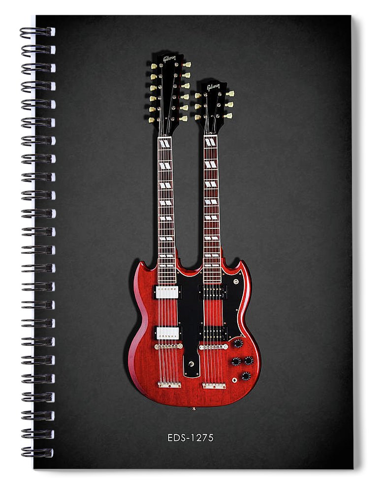 Gibson Eds 1275 Spiral Notebook featuring the photograph Gibson Eds 1275 by Mark Rogan