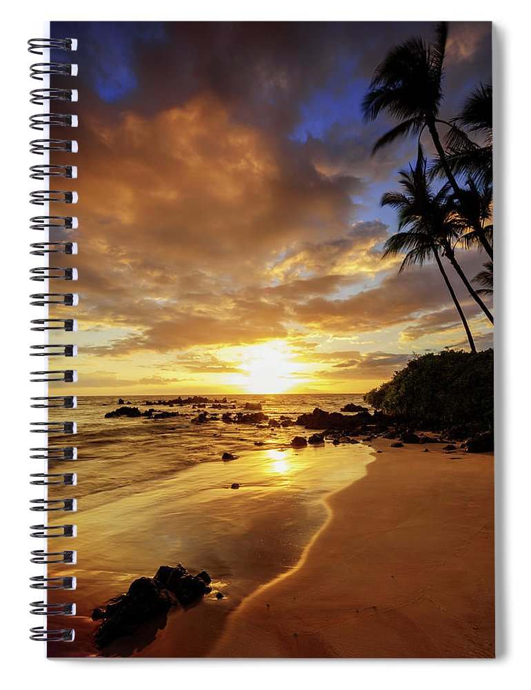 Glorious Spiral Notebook featuring the photograph Glorious by Chad Dutson
