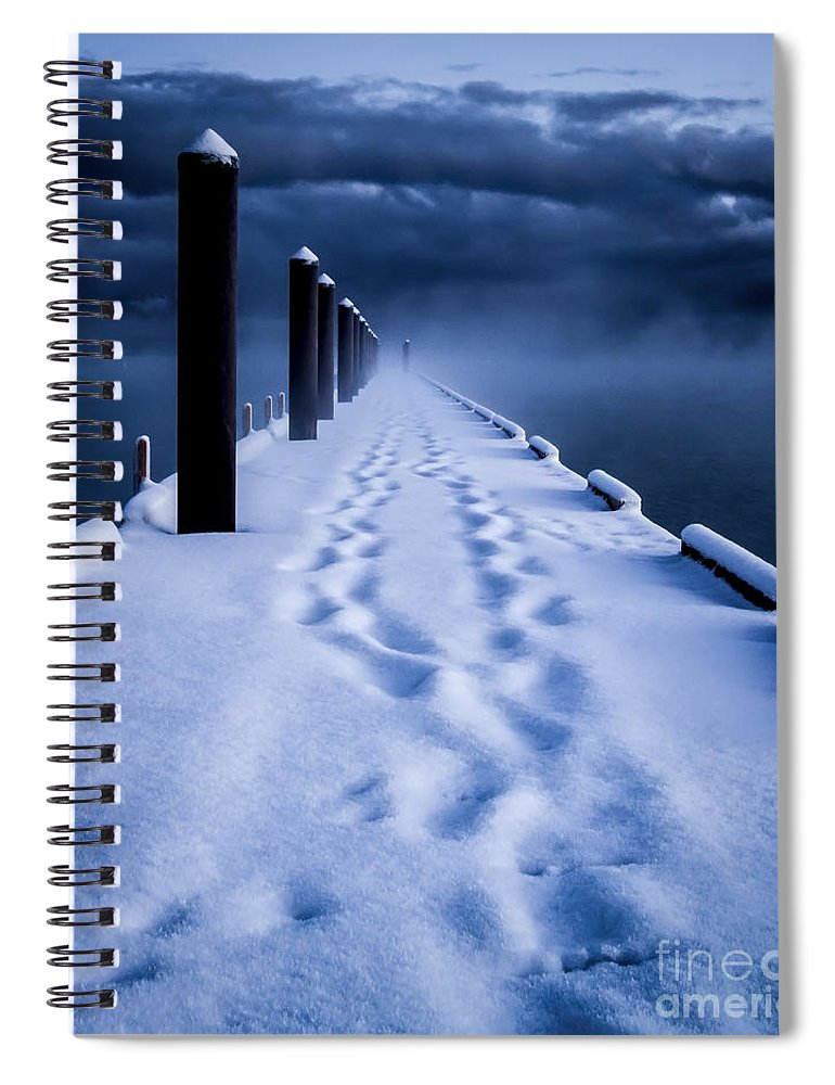 Tahoe Spiral Notebook featuring the photograph Going To The End by Mitch Shindelbower