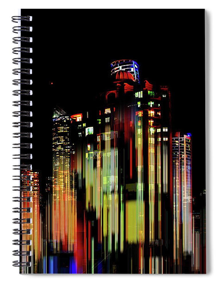 Australia Spiral Notebook featuring the photograph Gold Coast Rising by Az Jackson