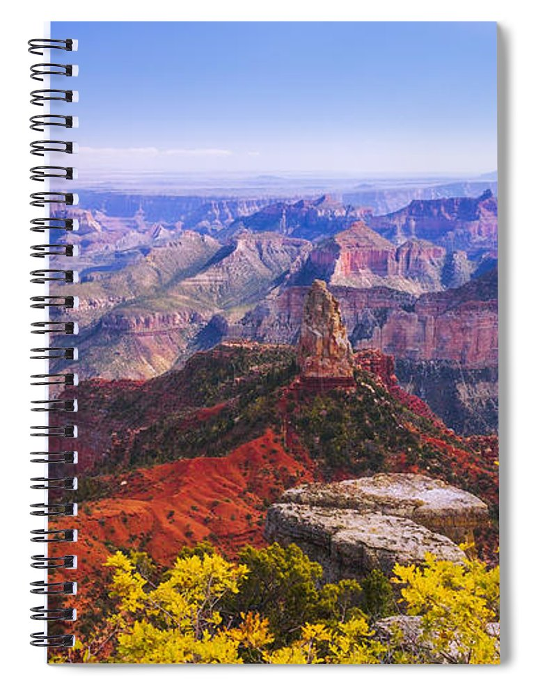 Grand Arizona Spiral Notebook featuring the photograph Grand Arizona by Chad Dutson