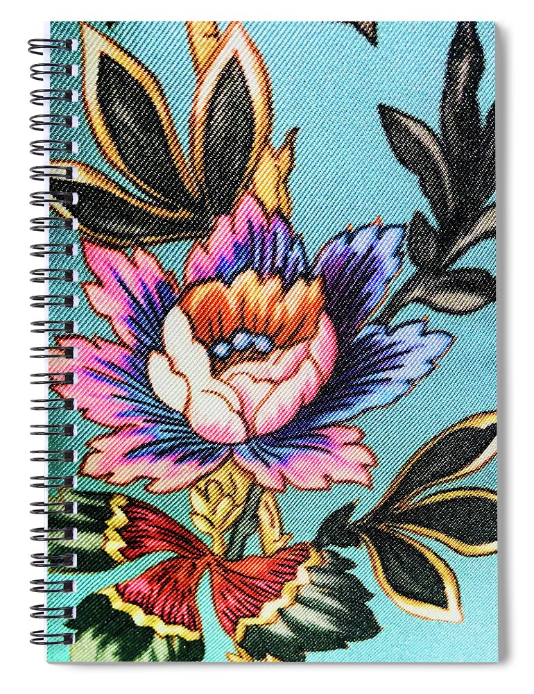 Spiral Notebook featuring the photograph Garden Flower by Ceil Diskin
