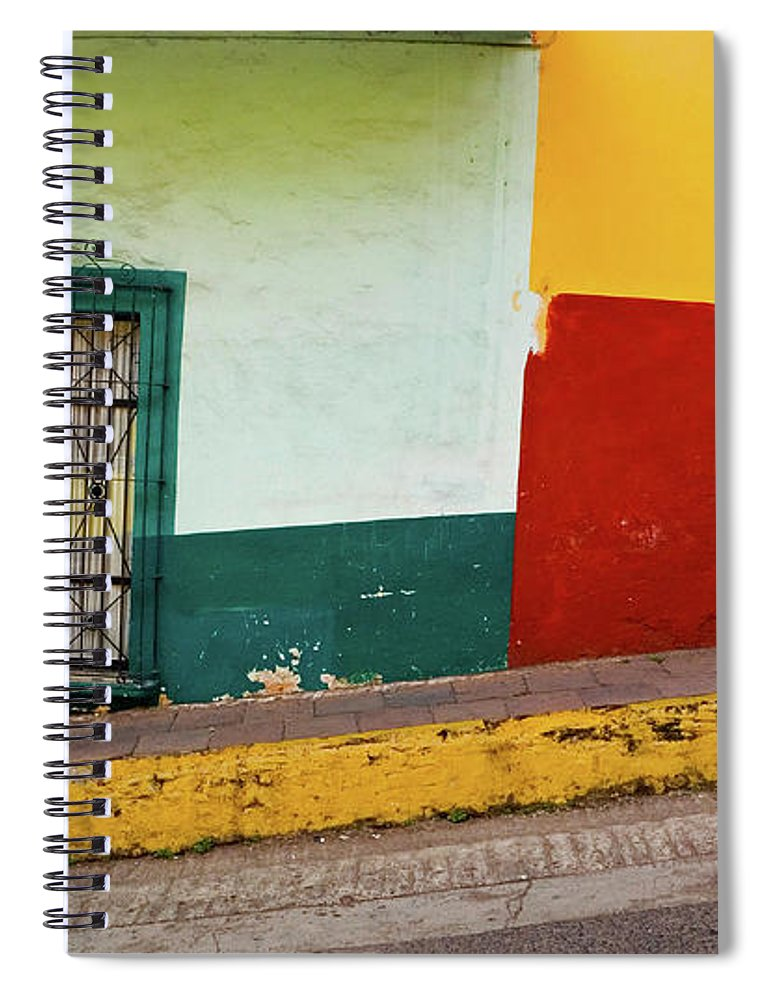 Man Spiral Notebook featuring the photograph Hard Knock Life by Skip Hunt