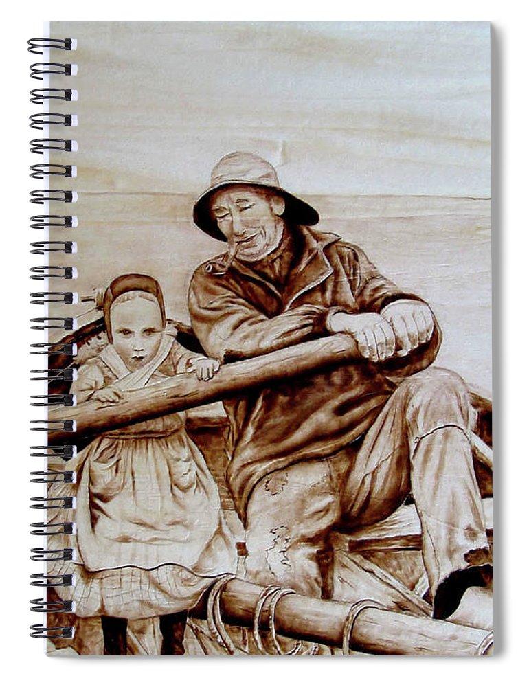 Helping Hands Spiral Notebook For Sale By Jo Schwartz