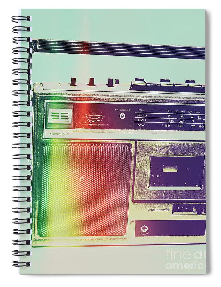 Pop Art Spiral Notebook featuring the photograph Hi-fi Pop by Jorgo Photography - Wall Art Gallery