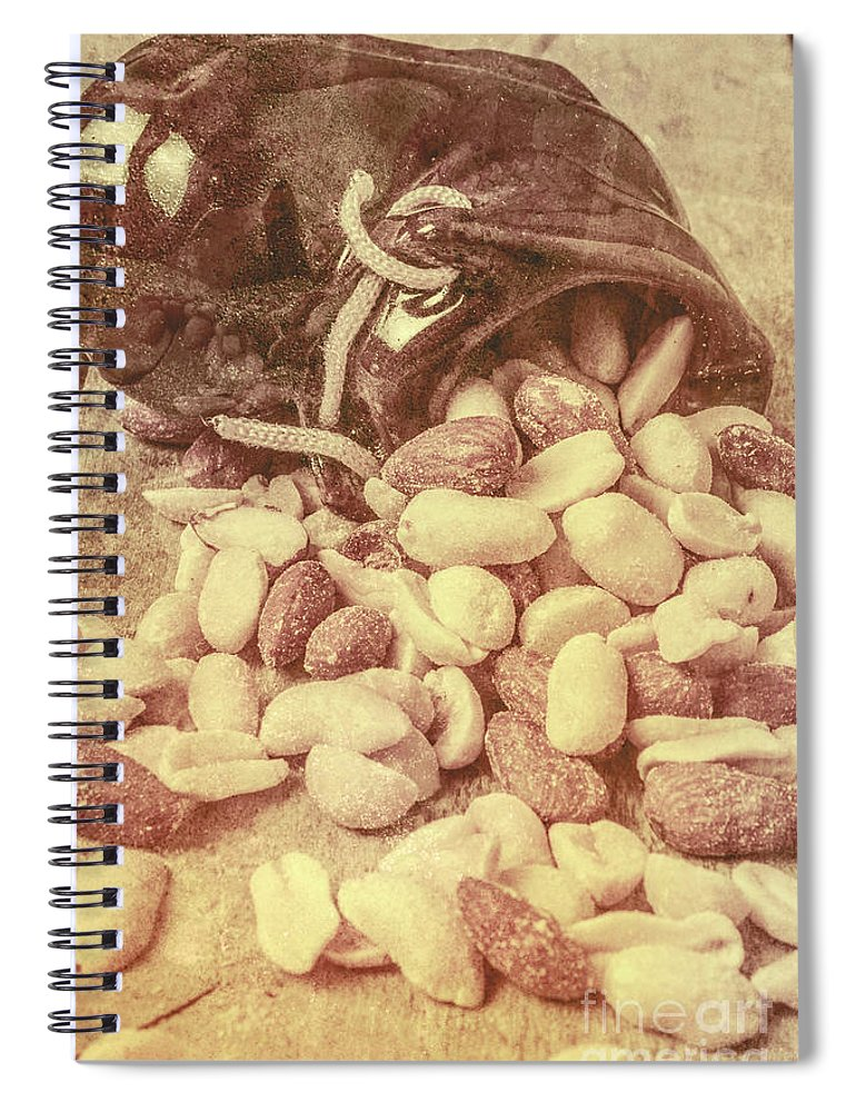 Historic Spiral Notebook featuring the photograph Historic Food Art by Jorgo Photography - Wall Art Gallery