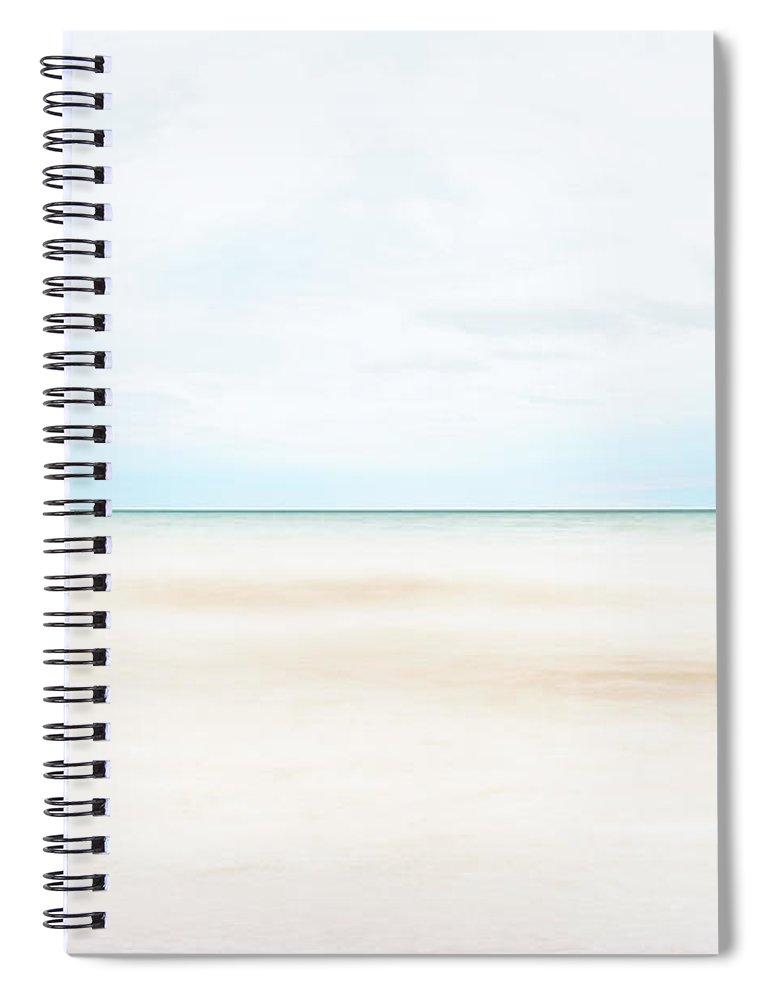 Horizon Spiral Notebook featuring the photograph Horizon #9 by Scott Norris