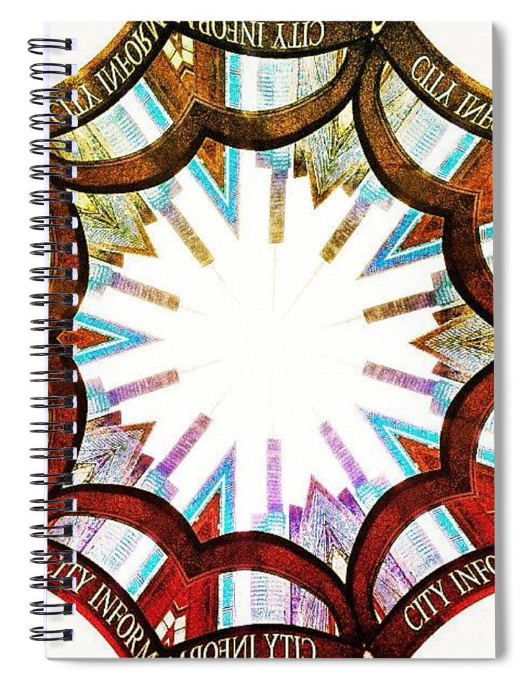 Searstower Spiral Notebook featuring the photograph I Got Your City Right Here by Nick Heap