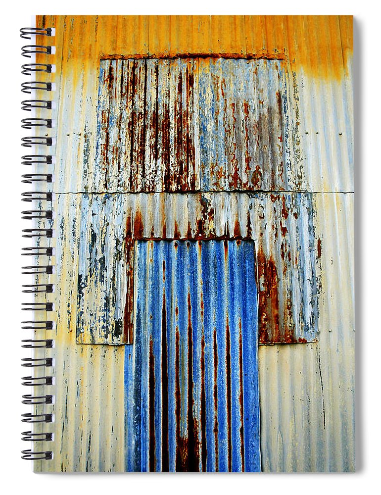 Skip Hunt Spiral Notebook featuring the photograph In Through The Out Door by Skip Hunt