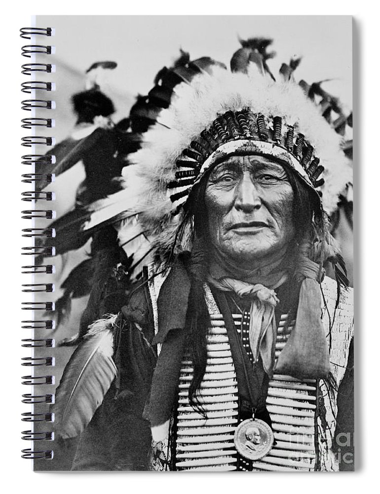 Iron Shell Spiral Notebook featuring the photograph Iron Shell by American School