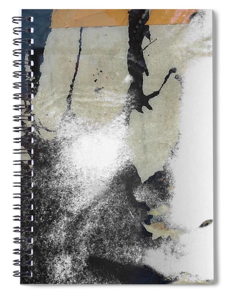 The Beatles Spiral Notebook featuring the digital art John Lennon - In My Life by Paul Lovering