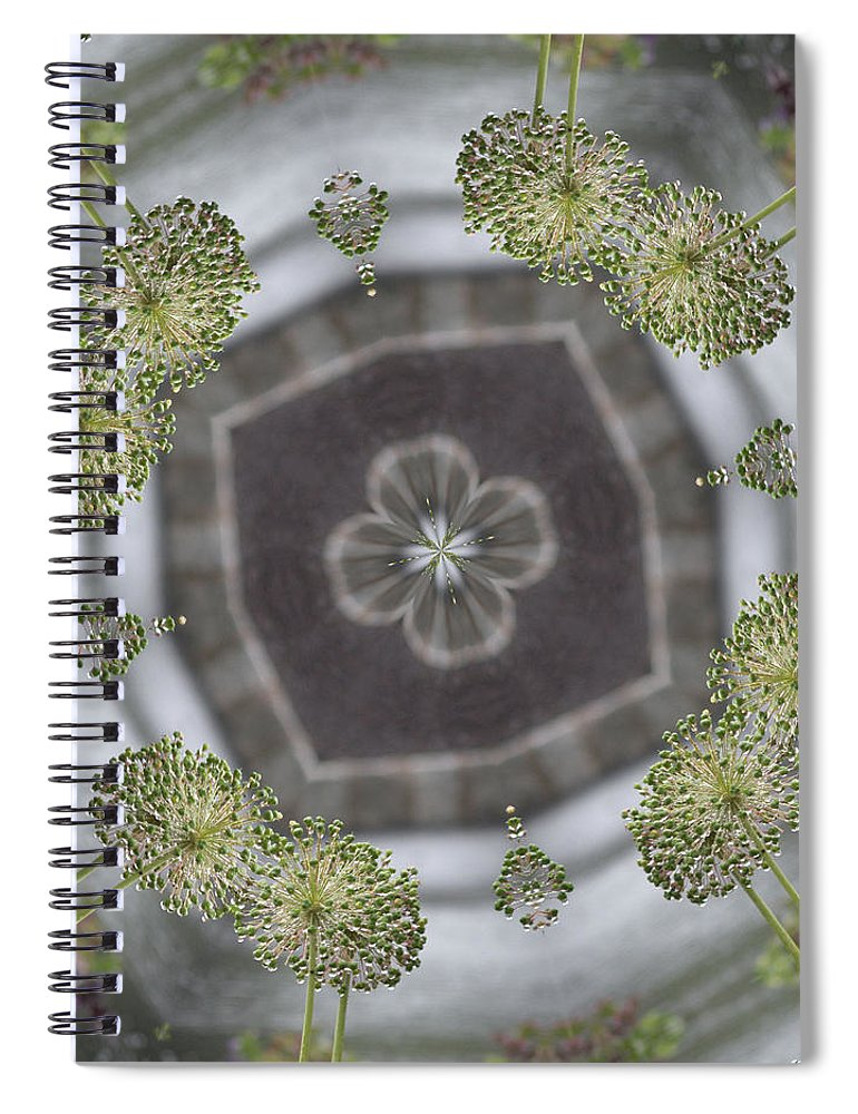 Flower Spiral Notebook featuring the photograph Kennedy by Trish Tritz