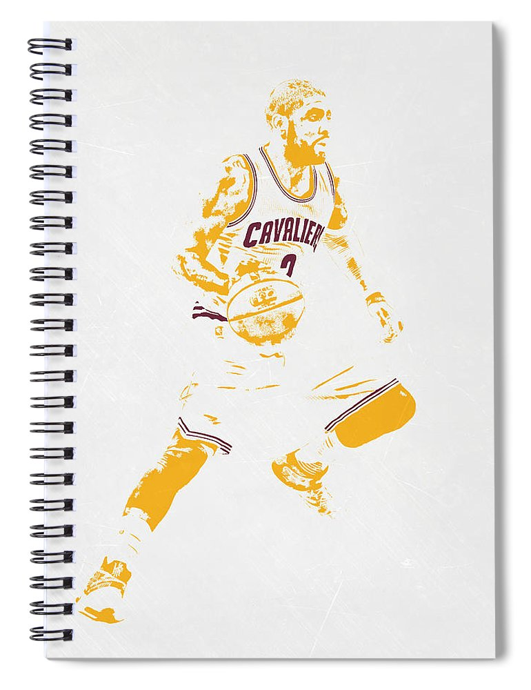 reputable site 485cc cb50f Kyrie Irving Cleveland Cavaliers Pixel Art Spiral Notebook