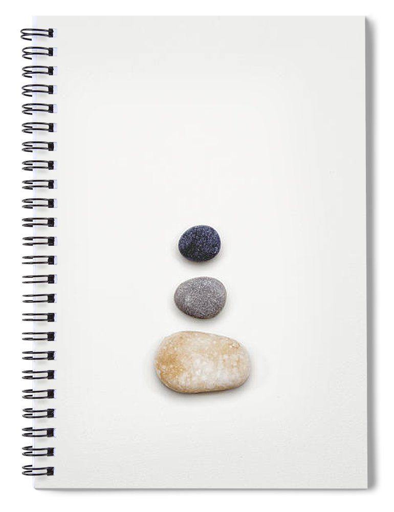 Minimalist Spiral Notebook featuring the photograph Learning To Let Go by Scott Norris